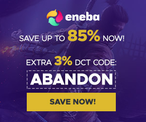 Save up to 85% on games with Eneba - Get Extra 3%