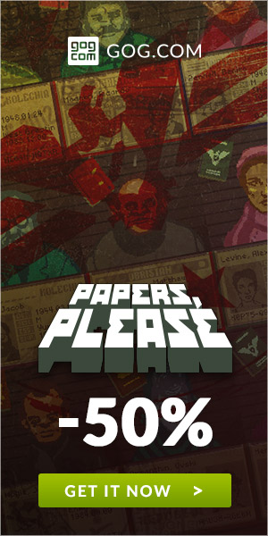 Sale on Papers Please now on GOG