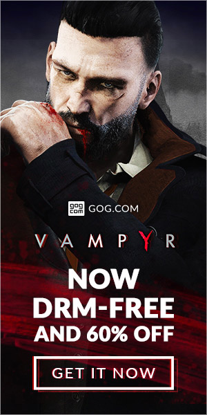Sale on Vampyr now on GOG