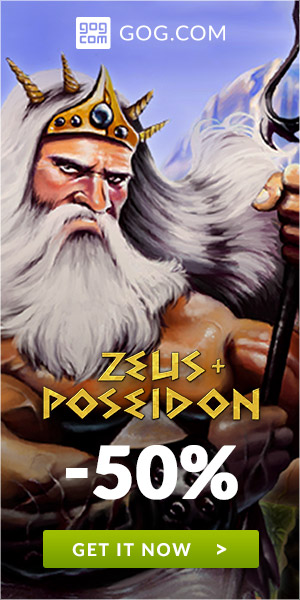 Sales on Zeud + Poseidon now on GOG