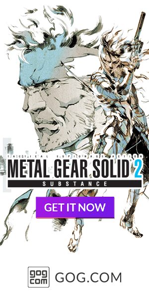 Metal Gear Solid 2: Substance now available on GOG