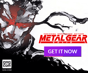 Metal Gear Solid now available on GOG