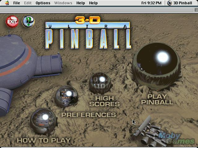 3d ultra pinball mac download
