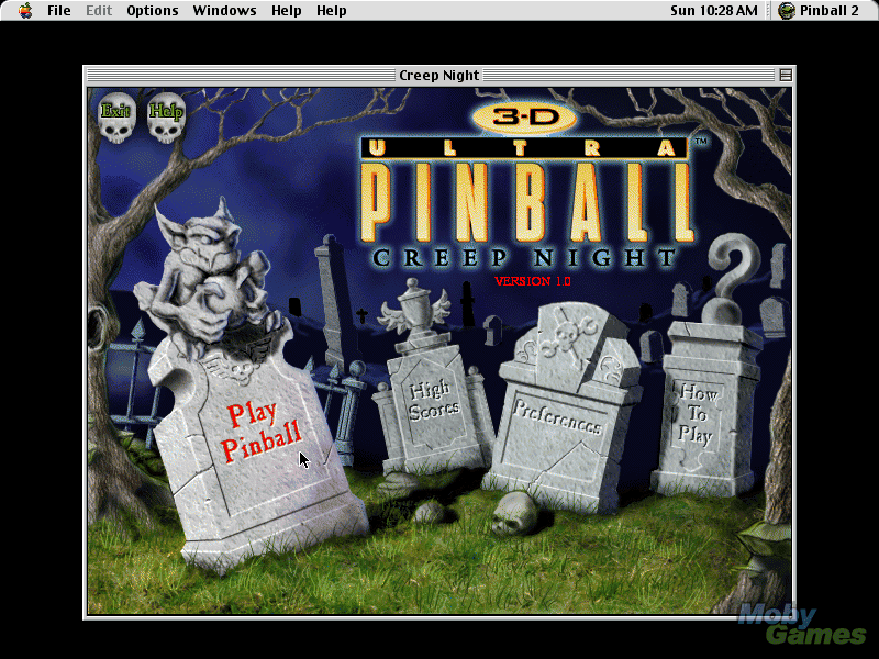 3d ultra pinball creep night gratuitement