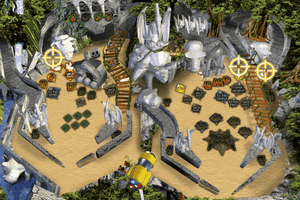 3-D Ultra Pinball: The Lost Continent 3