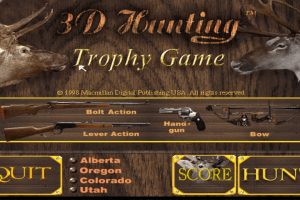 3D Hunting: Trophy Game 0