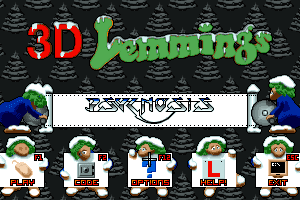 3D Lemmings Winterland abandonware