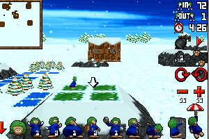 3D Lemmings Winterland 3