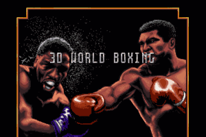3D World Boxing 0