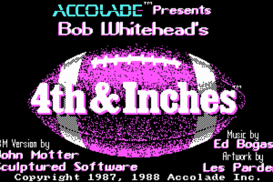 4th & Inches abandonware