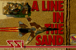 A Line in The Sand 1