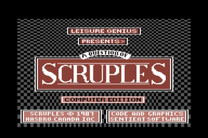 A Question of Scruples: The Computer Edition 0