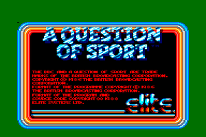 A Question of Sport 0