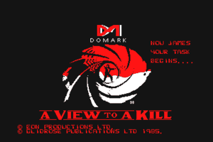 A View to a Kill: The Computer Game 0