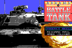 Abrams Battle Tank 4