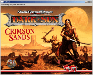 AD&D Dark Sun Online: Crimson Sands abandonware