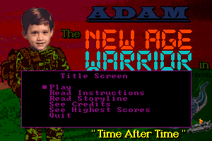 Adam the New Age Warrior in