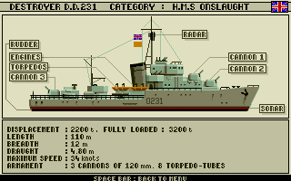 Advanced Destroyer Simulator 2
