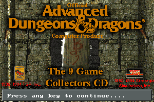 Advanced Dungeons & Dragons: Collector's Edition 0