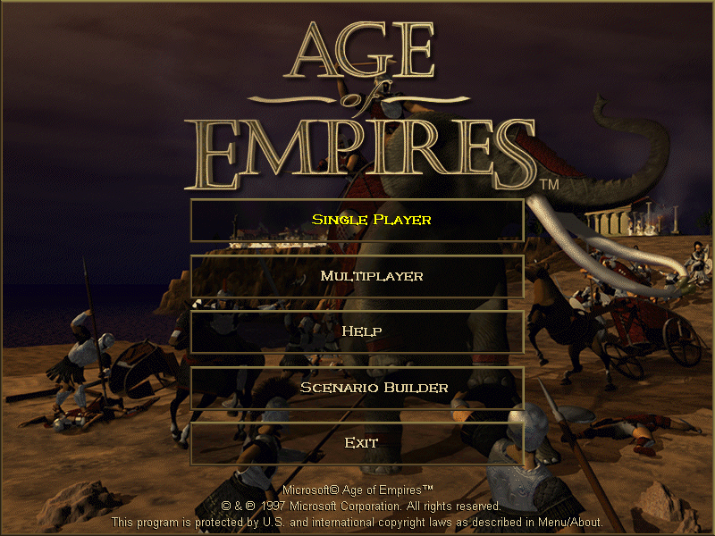 Age Of Empires My Abandonware
