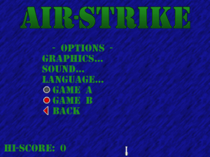 Air-Strike abandonware
