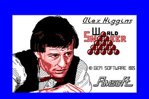 Alex Higgins' World Snooker abandonware