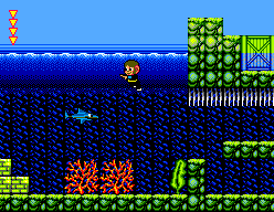 Alex Kidd in Shinobi World abandonware