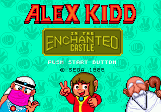 Alex Kidd in the Enchanted Castle 0