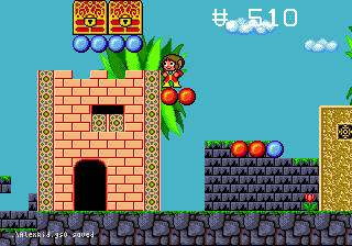 Alex Kidd in the Enchanted Castle 9