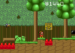 Alex Kidd in the Enchanted Castle 19