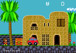 Alex Kidd in the Enchanted Castle 4