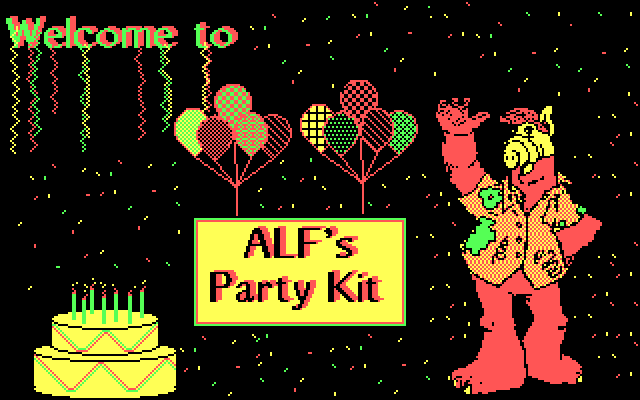 Alf's Party Kit 0