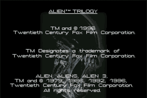 Alien Trilogy 0