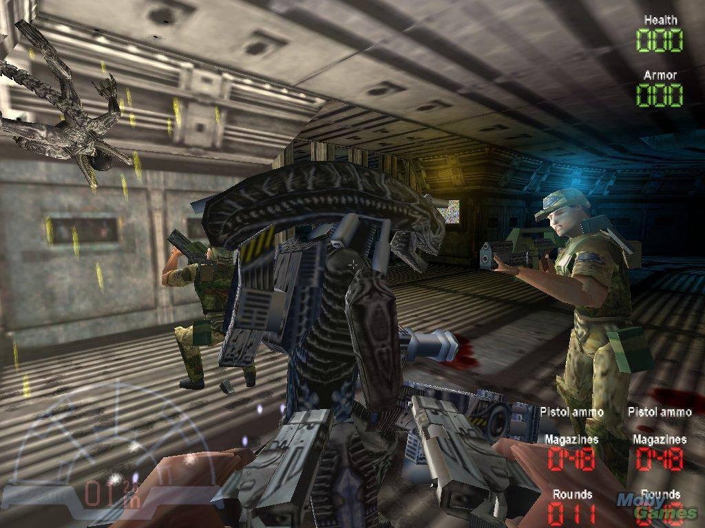 Alien Vs Predator Extinction Ps2 Rom   CINEMAS 93