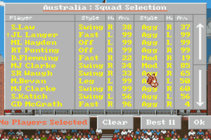 Allan Border's Cricket 1