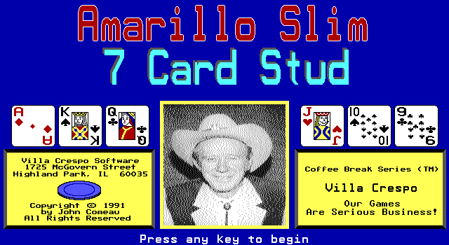 3 card stud game