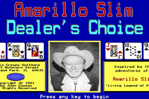 Amarillo Slim Dealer's Choice 1