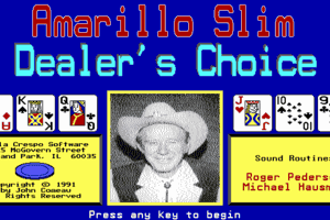 Amarillo Slim Dealer's Choice 0