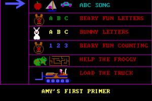 Amy's First Primer abandonware