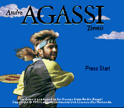 Andre Agassi Tennis 1
