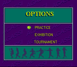 Andre Agassi Tennis 2
