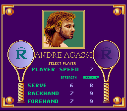 Andre Agassi Tennis 4