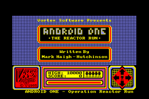 Android One: The Reactor Run 1