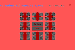 Animated Memory Game abandonware