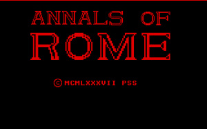 Annals of Rome 0