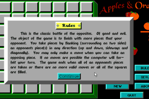 Apples & Oranges abandonware