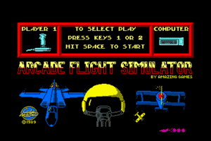 Arcade Flight Simulator abandonware