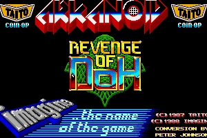 Arkanoid: Revenge of DOH 0
