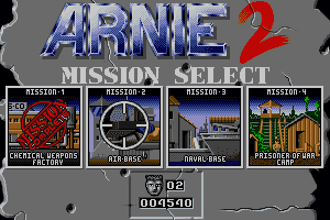 Arnie Savage: Combat Commando 0