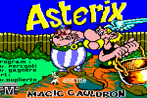Asterix and the Magic Cauldron 0